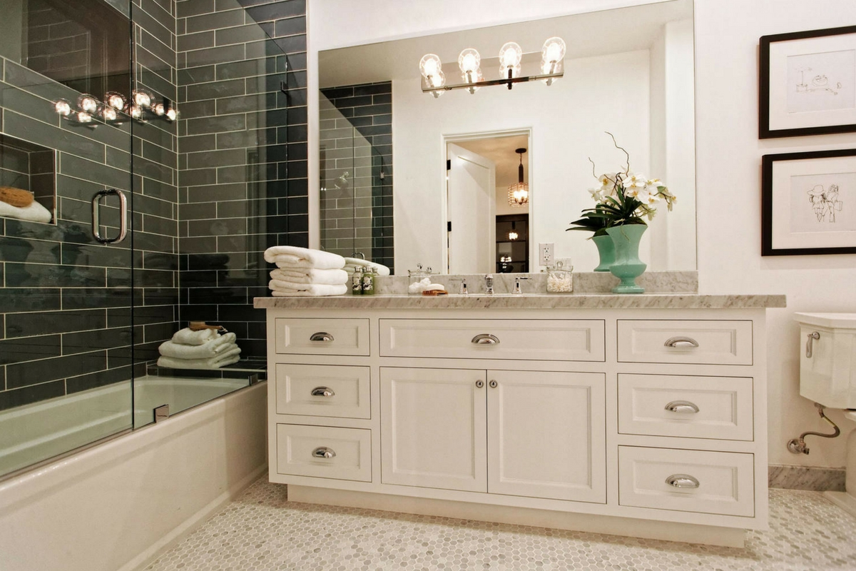 Custom Bathroom Vanity - Spring Construction and Design, Inc.